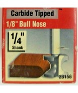 """Vermont American 23156 Carbide Tipped, Double Flute 1/8"""" Bull Nose Route... - $13.05"""