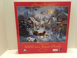 Merry Christmas 1000 pc Jigsaw Puzzle by SunsOut Inc. - $13.36