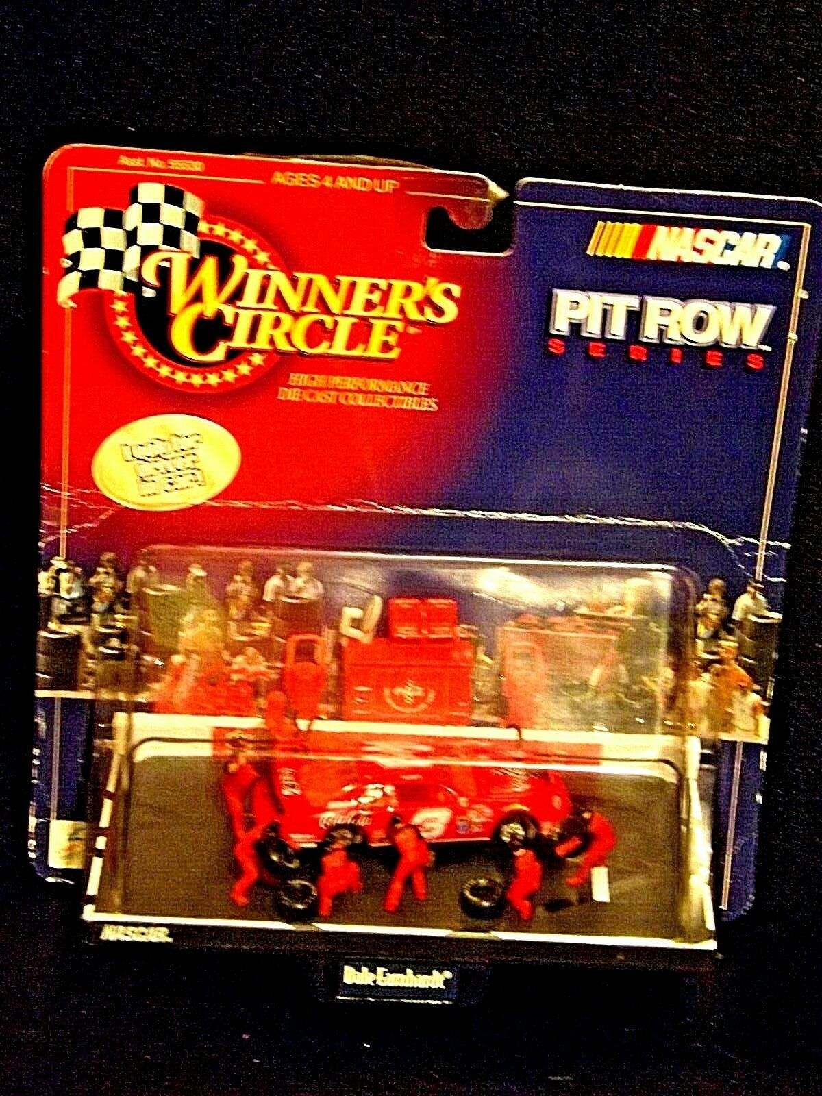 Winner's Circle NASCAR Pit Row Series#3 red Dale Earnhardt High Performance
