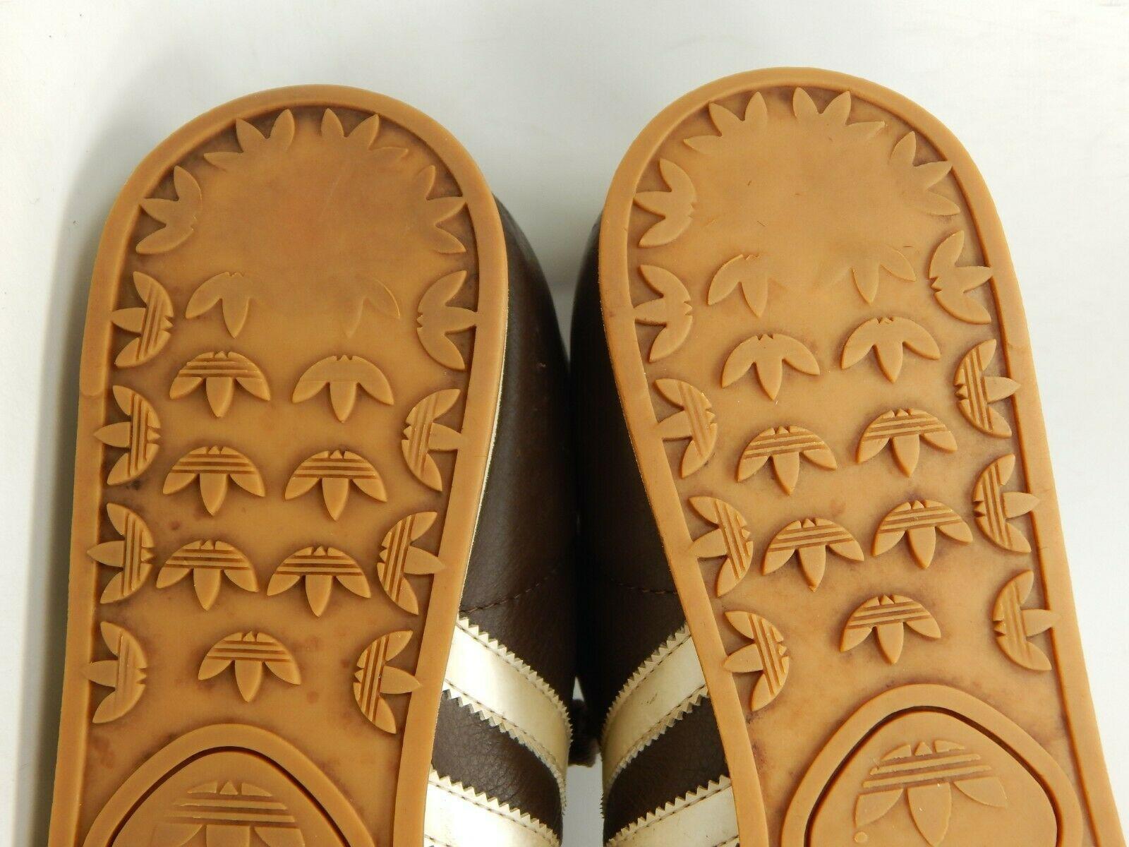 Adidas Samoa Größe US 12 M (D) Eu 46 2/3 Herren Freizeit Turnschuhe Braune image 9