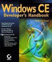 Windows Ce Developer's Handbook [Apr 01, 1999] Goggin, Terence A.; Heskett, Davi