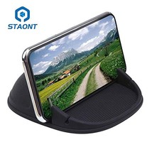 Car Phone Holder, Staont Anti-Slip Silicone Dashboard Car Pad Compatible... - $13.89