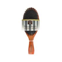 Earth Therapeutics Natural Bristle Cushion Hair Brush 9.5 L x 3.5 W**Nic... - $15.74