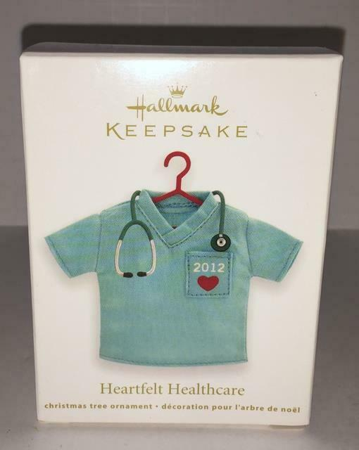 Primary image for Hallmark Keepsake Heartfelt Healthcare 2012 Medical Scrubs Miniture Ornament