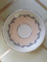 Vintage Aynsley Platinum And Pink Enamel Wreath Pattern Elegant Tea Cup ... - $25.00
