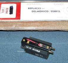 Astatic 643 PHONOGRAPH CARTRIDGE NEEDLE Electro-Voice EV 5465 Delmonico EG-8813 image 3