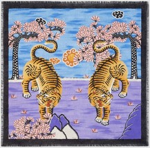 $465 NWT GUCCI SILK BENGAL TIGER SCARF SHAWL PASHIMA LIMITED EDTION - $351.45