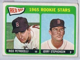 1965 Topps #74 Rico Petrocelli/Jerry Stephenson Rookie Card Red Sox Red ... - $11.39