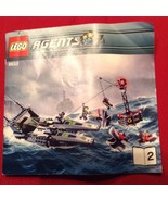 Lego Instruction Manual 8633 Agents Booklet Only - $4.94