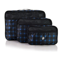 Heys Exotic Packing Cubes 3pc Set Travel Organi... - $39.99