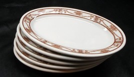 Set of 5 Jackson China 'Gillenwater Coffee & Equip. Co., Wichita' Oval D... - $9.95