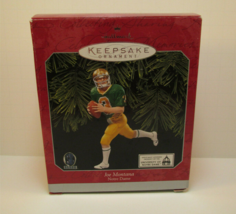 1997 HALLMARK KEEPSAKE ORNAMENT NFL Joe Montana FOOTBALL LEGENDS - $14.99