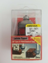 Vermont American Carbide Tipped Router Bit 23144 New - $20.99