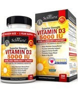 Vitamin D3 5,000 IU - Dr. Approved Vitamin D Supplement for Immune Suppo... - $20.99