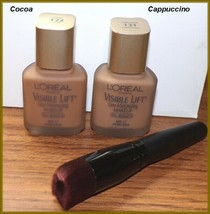 NEW L'oreal Visible Lift Line Minimizing Foundation  #121 Cuppuccino  #1... - $7.95