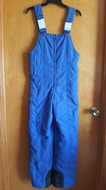 Vintage Womens Snow Ski Bibs Size 10 Blue by Powderhorn Mountaineering  - $21.56