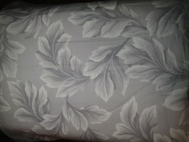 JCPenney Gray Floral Sateen 2 Piece 80 x 84 Drapery Panel Set - $28.04