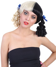 Exclusive! Wig for cosplay Melanie with Blue Ribbons  - $20.85