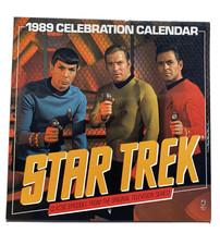 1989 Star Trek Calendar Pocket Books Wall Hanging - Unused - $11.96