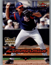 2006 Fleer Ultra #97 Ryan Zimmerman RC - Washington Nationals - $5.23