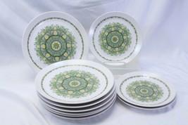 Noritake Palos Verde Dinner and Salad Plates Lot of 10 - $88.19