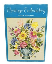 Heritage Embroidery Elsa S Williams HBDJ 1967 Color Plates - $24.26