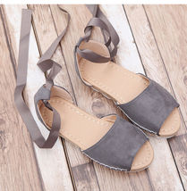 Strappy Flat Casual Black Shoes Slippers Sandals Home Spring Summer Women qaSAxvIcwa