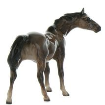 Hagen Renaker Miniature Horse Thoroughbred Mare Ceramic Figurine image 8