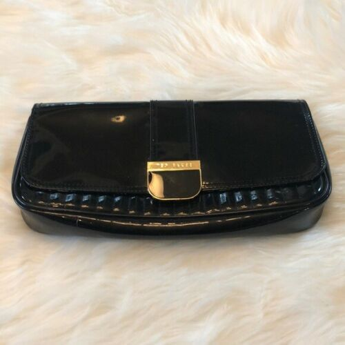 Primary image for Women's Ted Baker Black Patent Clutch