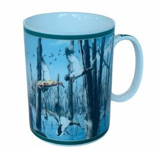 Danbury Mint Ducks North America mug cup Maass Wild Wings Mallard Timber... - $24.70
