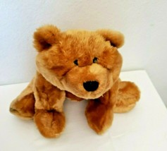 MTY International Bear Honey Brown Tan Plush Stuffed Animal - $24.73