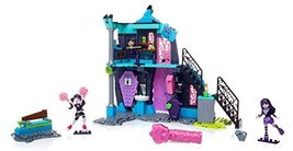 Mega Bloks Monster High School Fang Out School Play Set w/Draculaura and... - $28.48