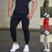 "2019 New Style Fashion Hot Solid Men""s Track Pants Casual Sports Trainni... - $11.50"