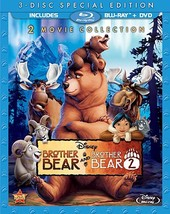 Disney Brother Bear / Brother Bear 2 (3-Disc Special Edition) [Blu-ray / DVD]