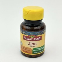 Nature Made Zinc Vitamin 30 mg Dietary Supplement 100 Tablets Exp 12/202... - $11.35