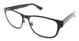 Gucci Eyeglasses Frames GG0007O 006 55-16-145 Dark Blue / Havana Made in... - $245.00