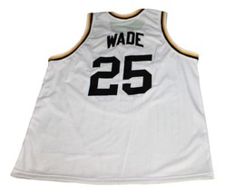Dwyane Wade #25 Richards High School Basketball Jersey New Sewn White Any Size image 2