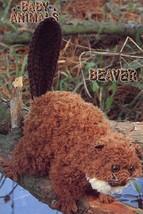 Baby Animals Beaver Annie's Crochet Pattern Leaflet NEW RARE HTF - $8.07