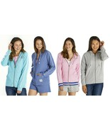 Life Is Good Women's Simply True French Terry Full Zip Front Hoodie, Medium - $57.99
