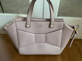 Kate Spade 2 Park Ave Beau Bow Bag & Lacey Wallet Cipria Pink - $154.26