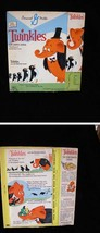 General Mills Twinkles Cereal Box 1960s Twinkles and The Penguin Family - $54.99