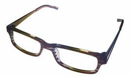 Converse Ophthalmic Mens Rectangle Plastic Eyeglass City Limits Red Stripe 51 - $35.99