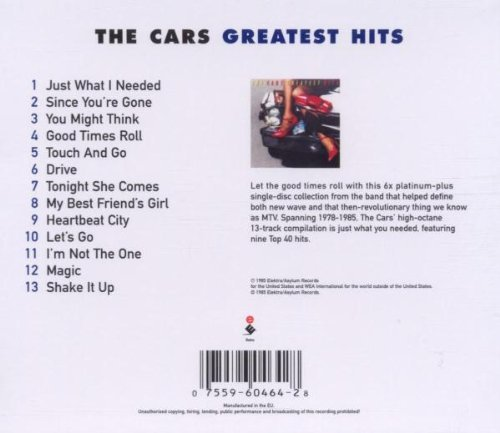 The Cars - Greatest Hits The Cars