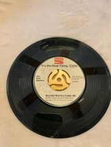 VTG Coca Cola Record 45 The New Seekers Buy The World a Coke It's the Re... - $5.29