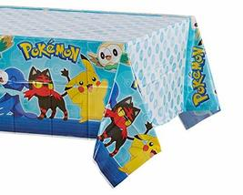 American Greetings Plastic Table Cover for Arts & Crafts, Pokemon Party Supplies - $4.90