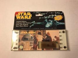 STAR WARS LTD EDITION COLLECTOR FILM FRAME 1995 ORIG MOVIE IOP   #2139 - $34.82