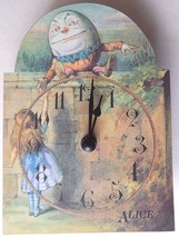The Authentic Alice Wall Clock The Macmillan Alice Collectible Made in E... - $9.74