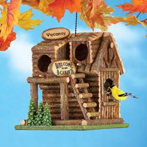 Northwoods Log Cabin Birdhouse - $23.50
