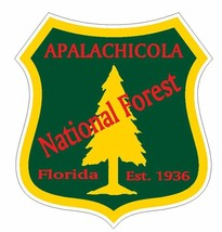 Apalachicola National Forest Sticker R3198 Florida YOU CHOOSE SIZE - $1.45+