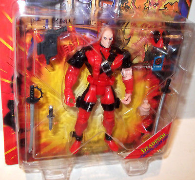 Primary image for ✰ ToyBiz Action Figure Marvel Comics X-men X-Force Deadpool Brand new on card